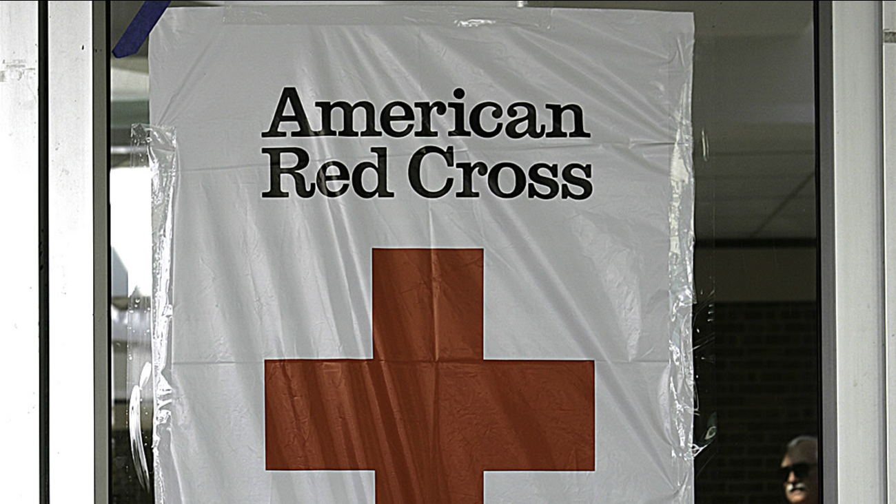 Red Cross shelter (AP Photo/Dr. Scott M. Lieberman)