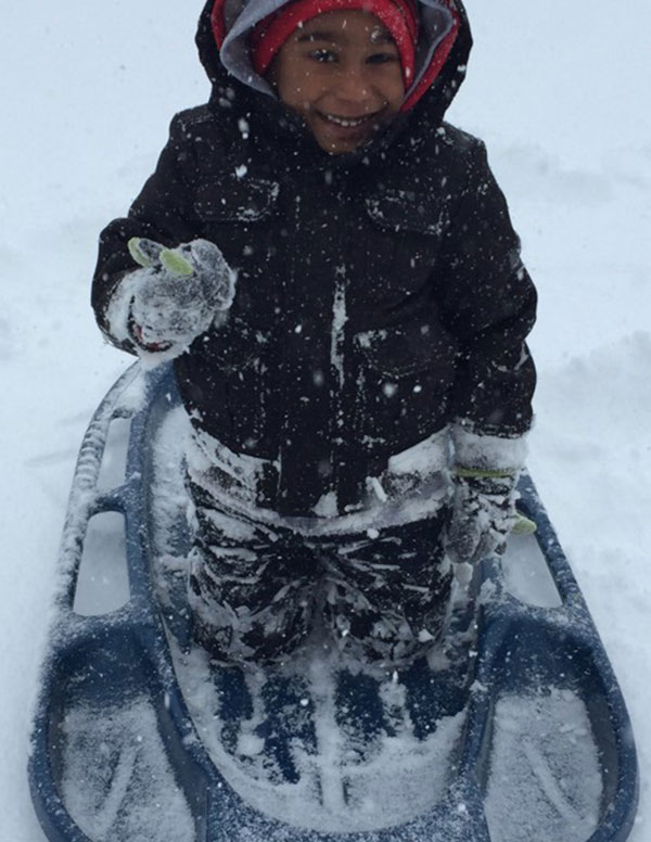"""<div class=""""meta image-caption""""><div class=""""origin-logo origin-image none""""><span>none</span></div><span class=""""caption-text"""">Kaiden Glasco enjoys some snow surfing in Kennett Square, Pa. (Action News Viewer)</span></div>"""