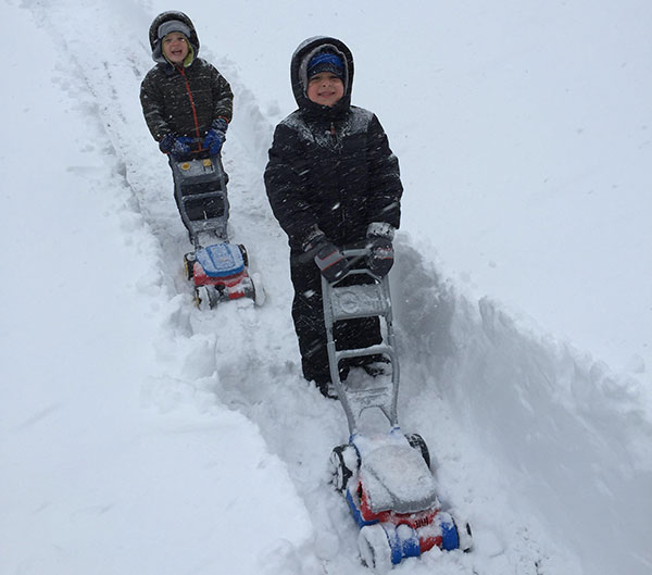 """<div class=""""meta image-caption""""><div class=""""origin-logo origin-image none""""><span>none</span></div><span class=""""caption-text"""">Connor and Tyler broke out the """"snow blowers"""" for the big storm. (Action News Viewer)</span></div>"""