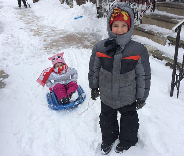 """<div class=""""meta image-caption""""><div class=""""origin-logo origin-image none""""><span>none</span></div><span class=""""caption-text"""">Shane pulls his little sister, Rosalina, on a sled in the snow. (Action News Viewer)</span></div>"""