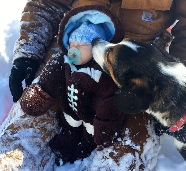 """<div class=""""meta image-caption""""><div class=""""origin-logo origin-image none""""><span>none</span></div><span class=""""caption-text"""">Fun in the snow has worn this little one out. (Action News Viewer)</span></div>"""