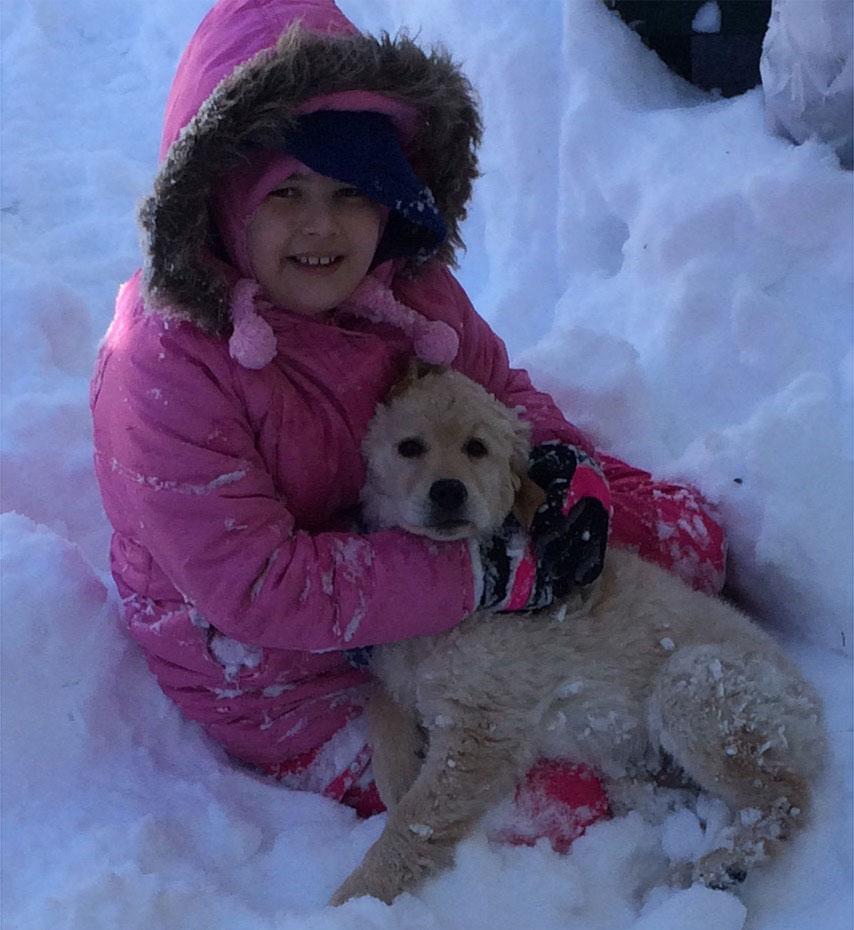"<div class=""meta image-caption""><div class=""origin-logo origin-image none""><span>none</span></div><span class=""caption-text"">Bianca, 9, and her puppy enjoy the snow in Burlington, New Jersey. (Kristi)</span></div>"