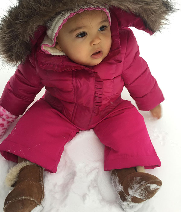 """<div class=""""meta image-caption""""><div class=""""origin-logo origin-image none""""><span>none</span></div><span class=""""caption-text"""">Ten-month-old Skylar is pretty in pink with a snowy backdrop. (Action News Viewer)</span></div>"""