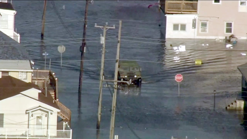 Flooding continues in parts of New Jersey
