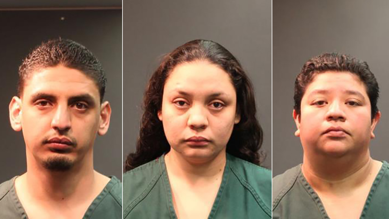 Ramiro Garcia Jr., Rosa Garcia and Janette Cuevas were arrested in connection to a hit-and-run near W. Edinger Avenue and S. Fairview Street in Santa Ana Sunday, Jan. 24, 2016.