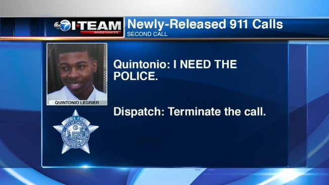 LISTEN 911 Calls From Night Of Quintonio LeGrier Shooting Released