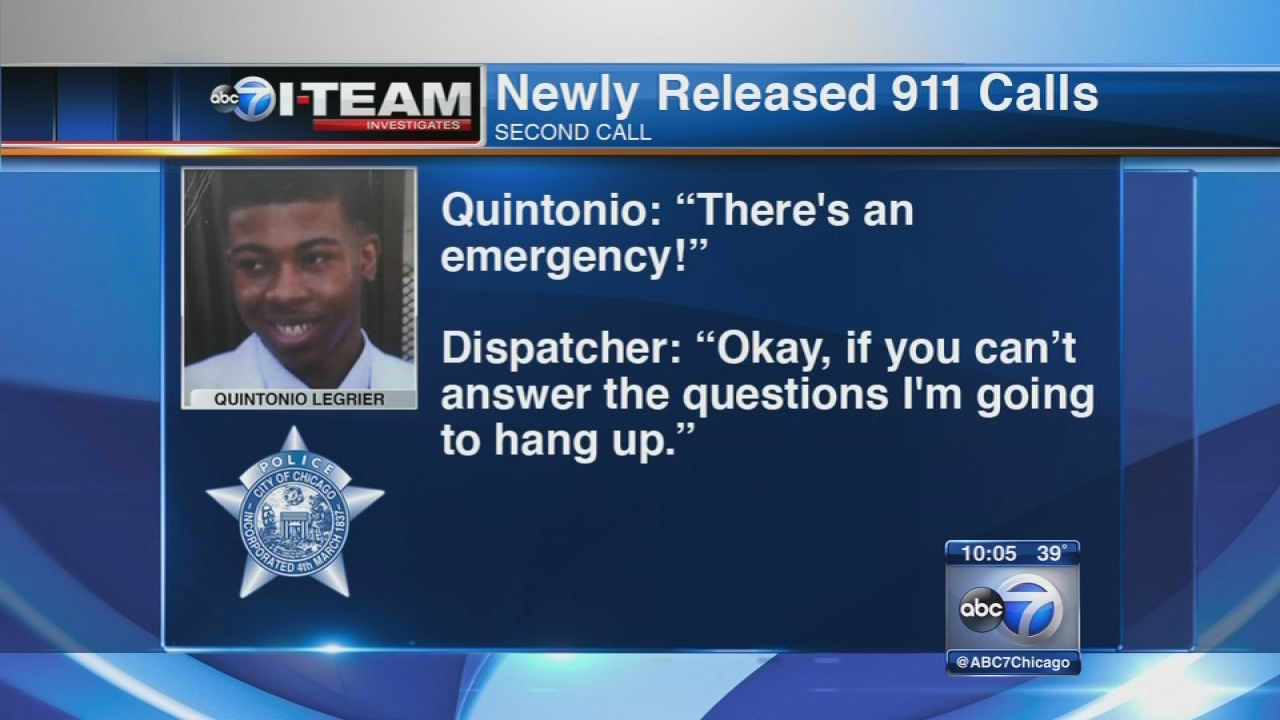 Quintonio LeGrier called 911 3 times before he was shot