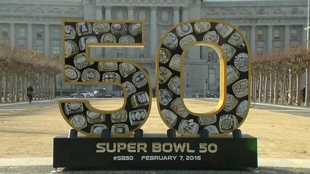 """<div class=""""meta image-caption""""><div class=""""origin-logo origin-image none""""><span>none</span></div><span class=""""caption-text"""">The Bay Area hosts Super Bowl 50!  In this photo taken Monday, Jan. 25, 2016, is the scene at Civic Center in San Francisco. (KGO-TV)</span></div>"""