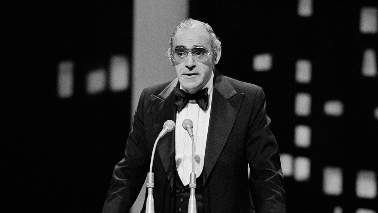 Actor Abe Vigoda at the People's Choice Awards held in Los Angeles, California, Feb. 20, 1978.