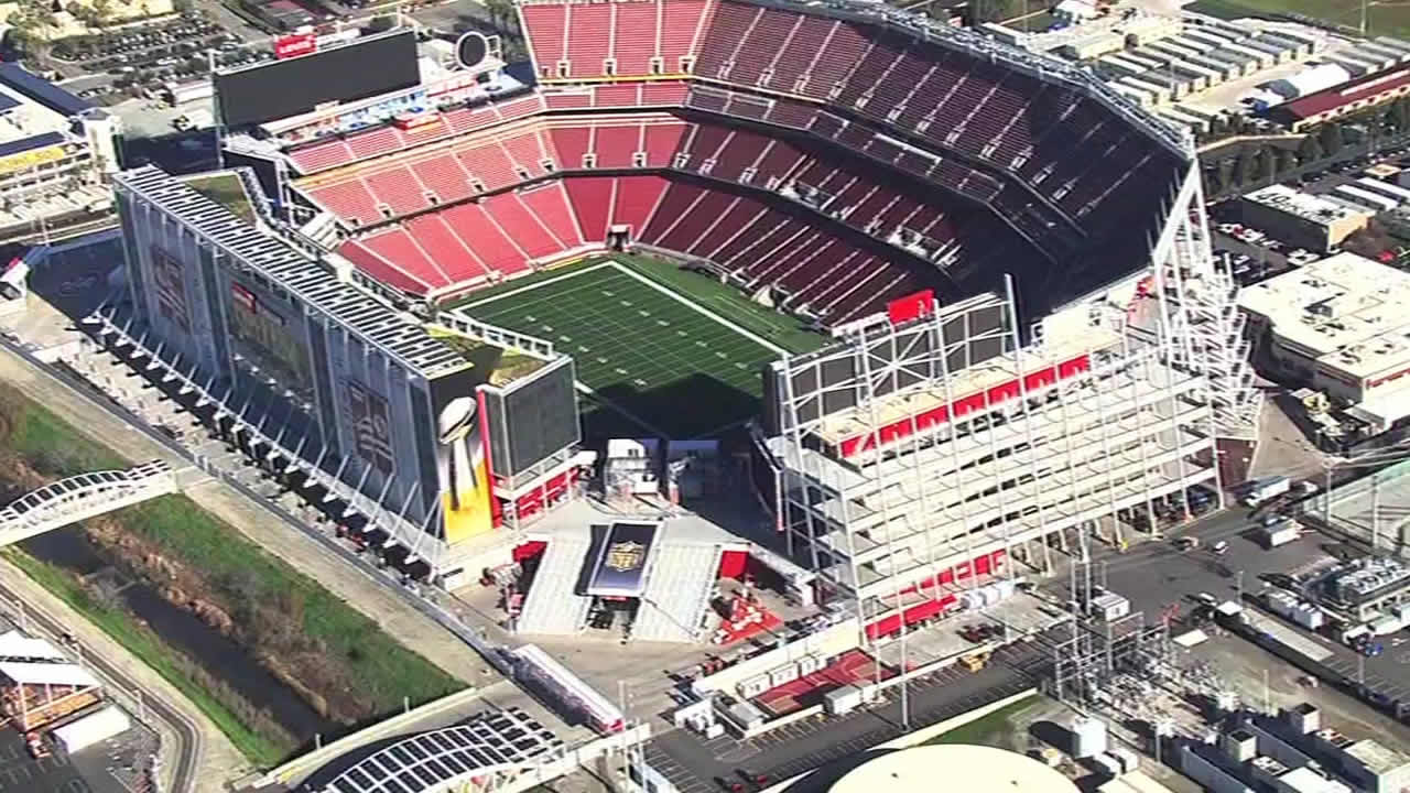 "<div class=""meta image-caption""><div class=""origin-logo origin-image none""><span>none</span></div><span class=""caption-text"">Construction underway at Levi's Stadium in Santa Clara on Tuesday, Jan. 26, 2016 as the Bay Area hosts Super Bowl 50. (KGO-TV)</span></div>"