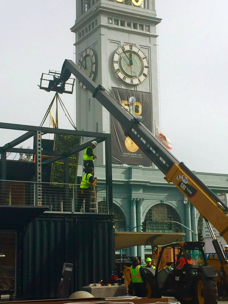 "<div class=""meta image-caption""><div class=""origin-logo origin-image none""><span>none</span></div><span class=""caption-text"">Super Bowl City construction at the Ferry Building in San Francisco on Tuesday, Jan. 26, 2016. (KGO-TV/Natasha Zouves)</span></div>"
