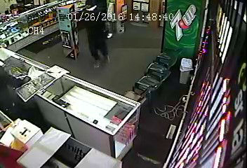 """<div class=""""meta image-caption""""><div class=""""origin-logo origin-image none""""><span>none</span></div><span class=""""caption-text"""">Gary police released surveillance images showing two suspects wanted in connection with a shooting at a cell phone store on Jan. 26, 2016. (WLS Photo/ Gary Police Dept.)</span></div>"""