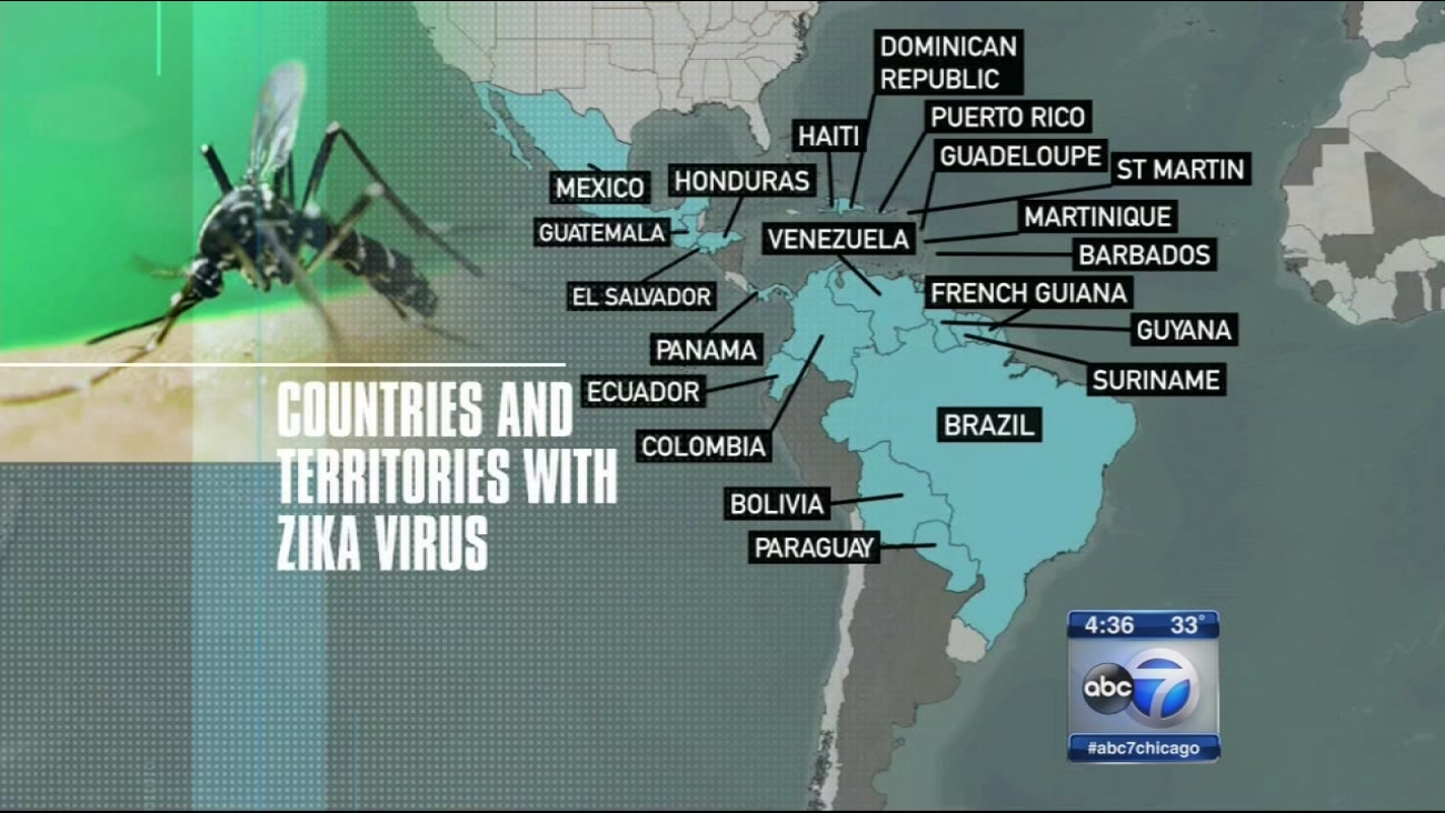 Zika virus concern suspends travel plans