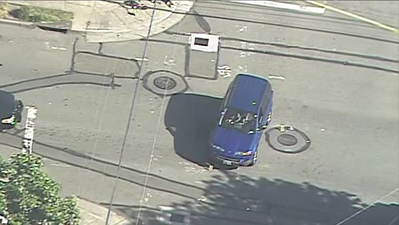 A 7-year-old boy riding his bicycle was seriously injured after he was struck by an SUV in Berkeley Monday