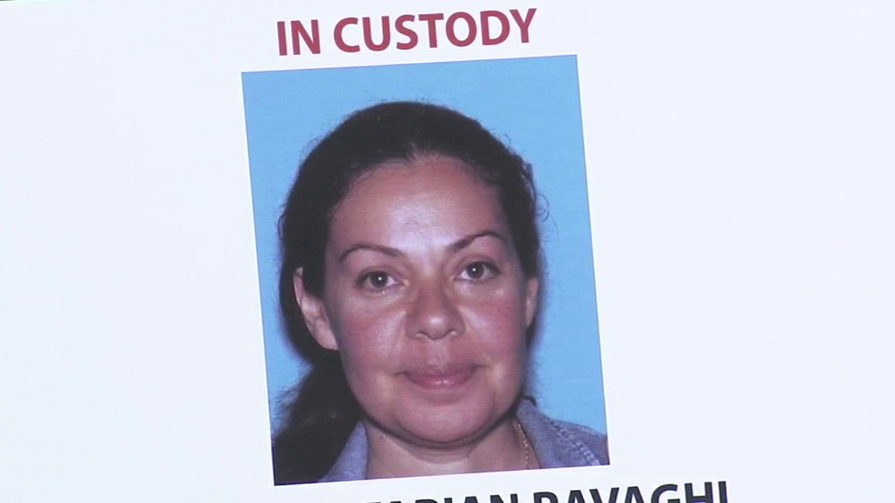 Nooshafarin Ravaghi, 44, of Lake Forest, is shown in an undated photo during an Orange County Sheriff's Department press conference on Thursday, Jan. 28, 2016.