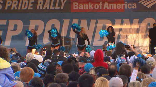 "<div class=""meta image-caption""><div class=""origin-logo origin-image none""><span>none</span></div><span class=""caption-text"">Panthers pep Rally in Charlotte (Photo/WTVD Photo)</span></div>"