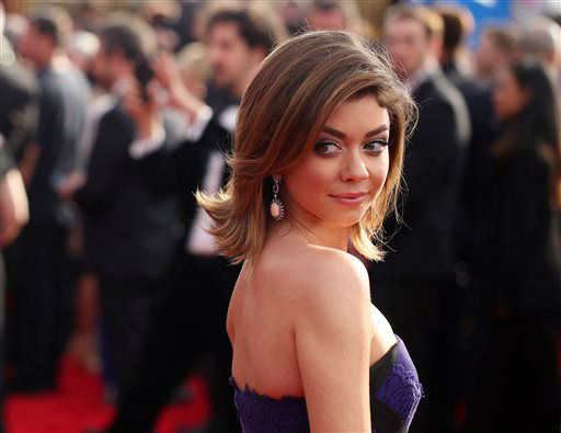 "<div class=""meta image-caption""><div class=""origin-logo origin-image none""><span>none</span></div><span class=""caption-text"">Sarah Hyland arrives at the 22nd annual Screen Actors Guild Awards. (Photo by Matt Sayles/Invision/AP) (Photo/Matt Sayles)</span></div>"