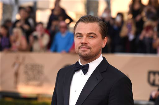 "<div class=""meta image-caption""><div class=""origin-logo origin-image none""><span>none</span></div><span class=""caption-text"">Leonardo DiCaprio arrives at the 22nd annual Screen Actors Guild Awards. (Photo by Jordan Strauss/Invision/AP) (Photo/Jordan Strauss)</span></div>"