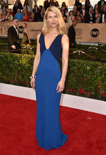 "<div class=""meta image-caption""><div class=""origin-logo origin-image none""><span>none</span></div><span class=""caption-text"">Claire Danes arrives at the 22nd annual Screen Actors Guild Awards. (Photo by Jordan Strauss/Invision/AP) (Photo/Jordan Strauss)</span></div>"