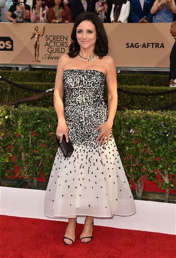 "<div class=""meta image-caption""><div class=""origin-logo origin-image none""><span>none</span></div><span class=""caption-text"">Julia Louis-Dreyfus arrives at the 22nd annual Screen Actors Guild Awards. (Photo by Jordan Strauss/Invision/AP) (Photo/Jordan Strauss)</span></div>"