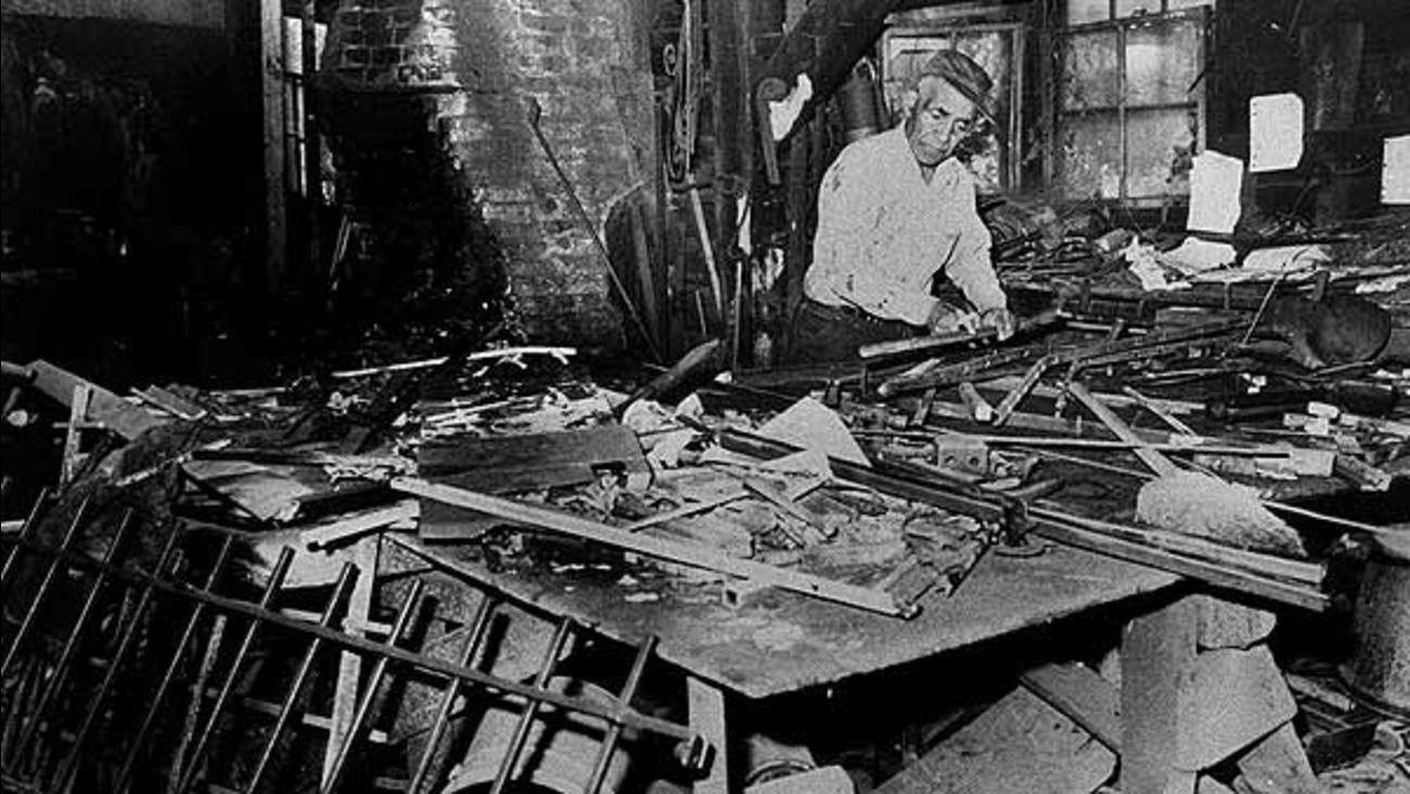 Sandy Ground, Staten Island blacksmith shop