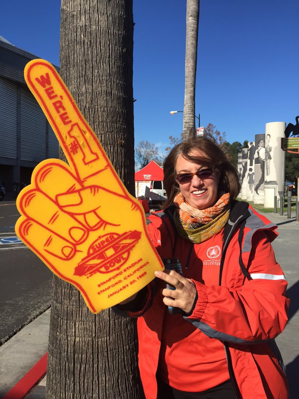 "<div class=""meta image-caption""><div class=""origin-logo origin-image none""><span>none</span></div><span class=""caption-text"">Super Bowl volunteer poses at fan event in San Jose on Monday, Feb. 1, 2016. (KGO-TV/David Louie)</span></div>"