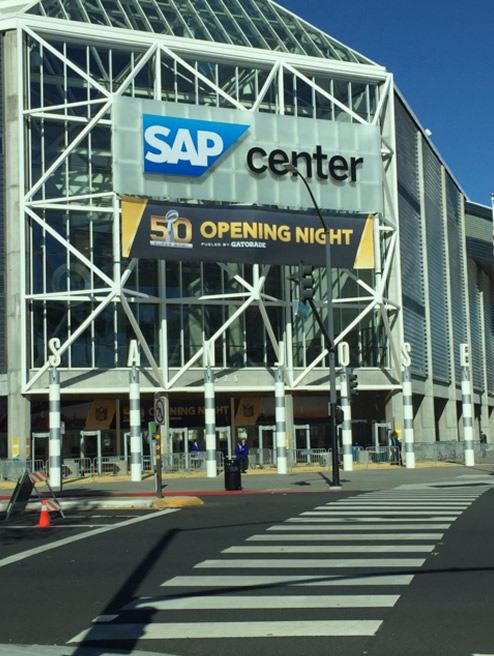 "<div class=""meta image-caption""><div class=""origin-logo origin-image none""><span>none</span></div><span class=""caption-text"">Opening Night for Super Bowl 50 at SAP Center in San Jose gives fans and media an opportunity to be with the Super Bowl players on Monday, Feb. 1, 2016. (KGO-TV/Matt Keller)</span></div>"
