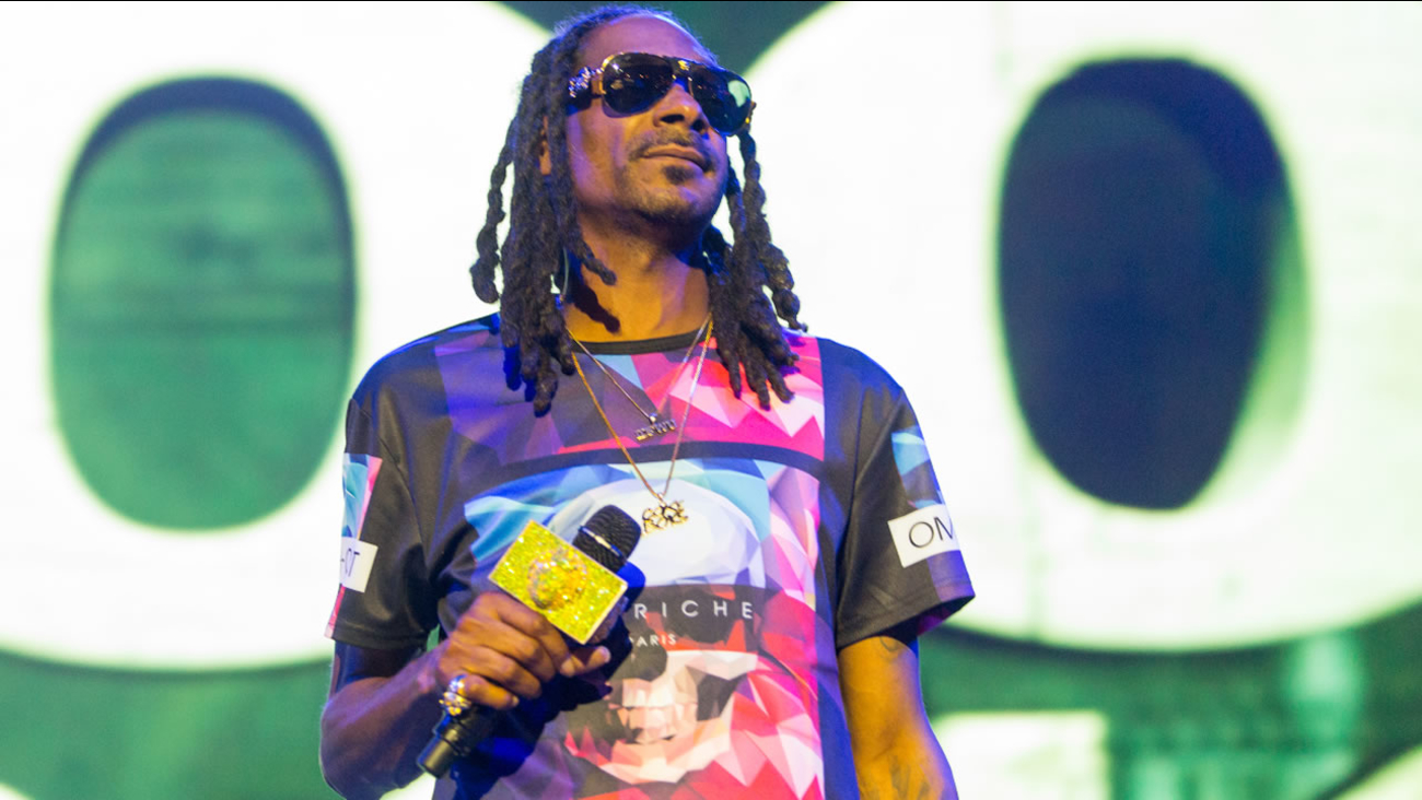Snoop Dogg performs during the Life is Beautiful festival on Saturday, September 26, 2015 in Las Vegas.