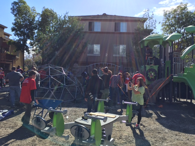 """<div class=""""meta image-caption""""><div class=""""origin-logo origin-image none""""><span>none</span></div><span class=""""caption-text"""">Volunteers are in action at a KaBOOM! playground build in San Jose, Calif. on Tuesday, February 2, 2016.</span></div>"""
