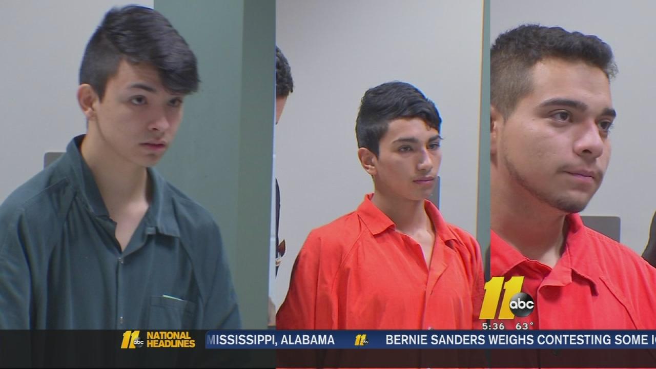 Alleged brick throwers in court
