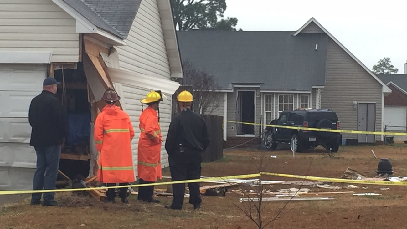 The home suffered significant damage