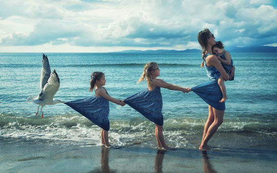 "<div class=""meta image-caption""><div class=""origin-logo origin-image wpvi""><span>WPVI</span></div><span class=""caption-text"">""Just a Seagull Pulling My Girls"" (Credit: John Wilhelm)</span></div>"