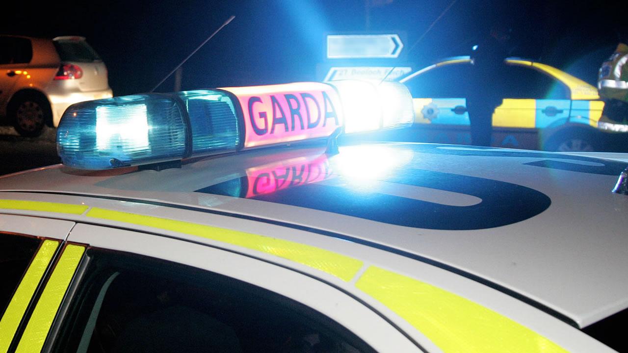 Irish police car