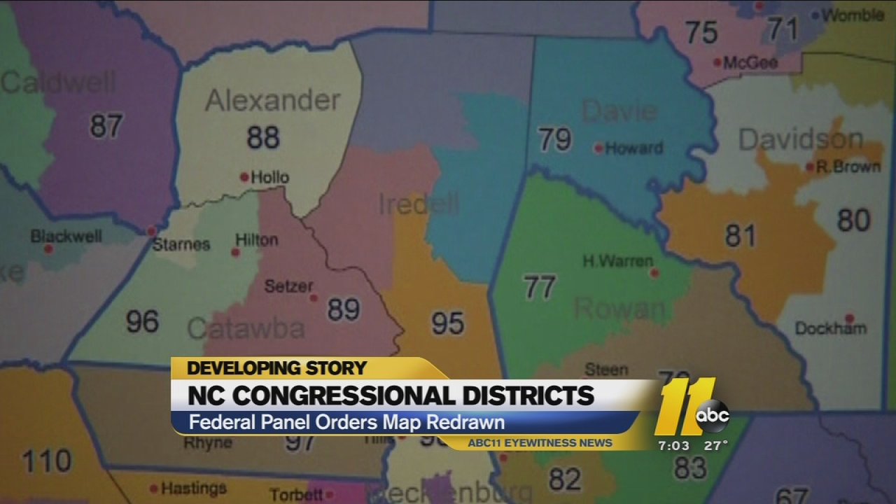 Judge rules on redistricting