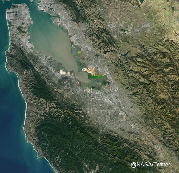 "<div class=""meta image-caption""><div class=""origin-logo origin-image none""><span>none</span></div><span class=""caption-text"">A NASA satellite captured this image above the Bay Area on Sunday, February 7, 2016. (NASA/Twitter)</span></div>"