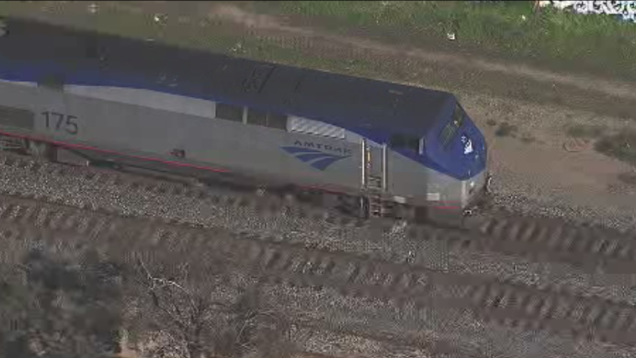 A man was struck and killed by an Amtrak Capitol Corridor train in Berkeley, Calif., on Monday, February 8, 2016.