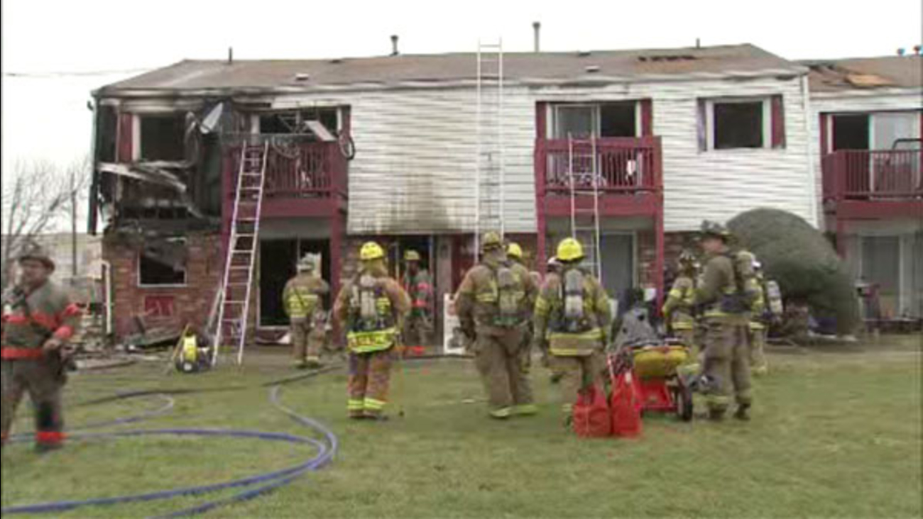 2-alarm fire forces residents from Deptford apartment