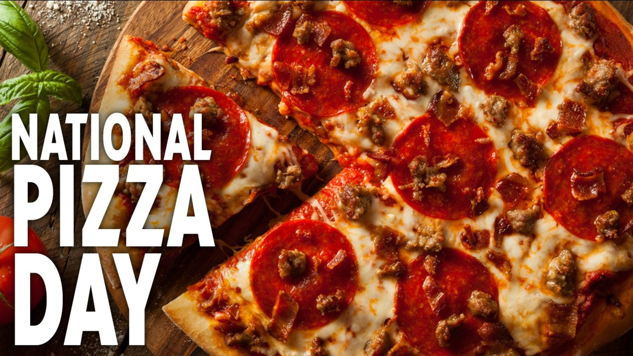 Here's your slice of New York City pizza for National Pizza Day -  #NationalPizzaDay - ABC7 New York