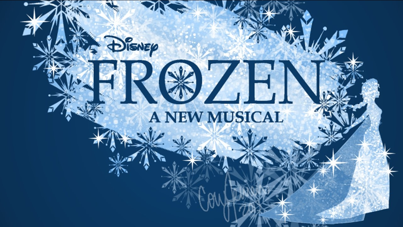 frozen the musical broadway