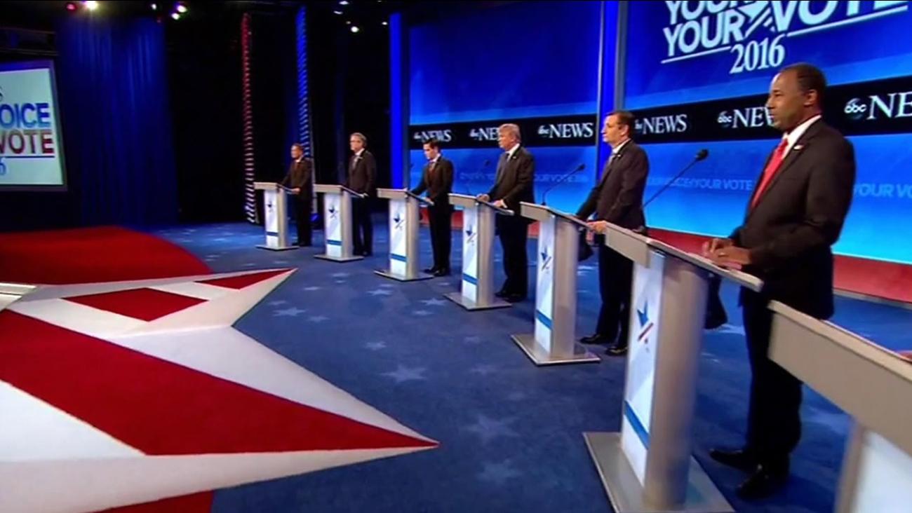 GOP debate in New Hampshire