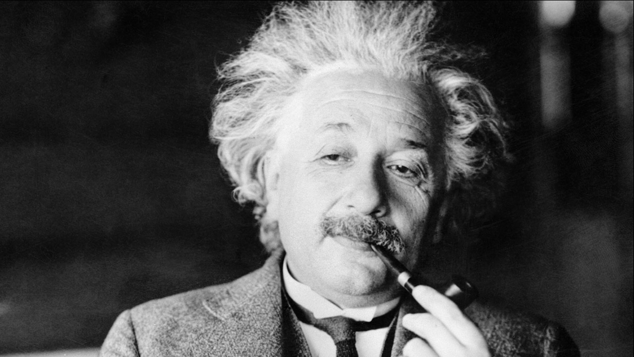 File photo of Albert Einstein.