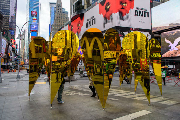 "<div class=""meta image-caption""><div class=""origin-logo origin-image wabc""><span>WABC</span></div><span class=""caption-text"">A romantic, mirrored art exhibit called 'Heart of Hearts' is on display to celebrate Valentine's Day in Times Square. (WABC Photo / Mike Waterhouse)</span></div>"