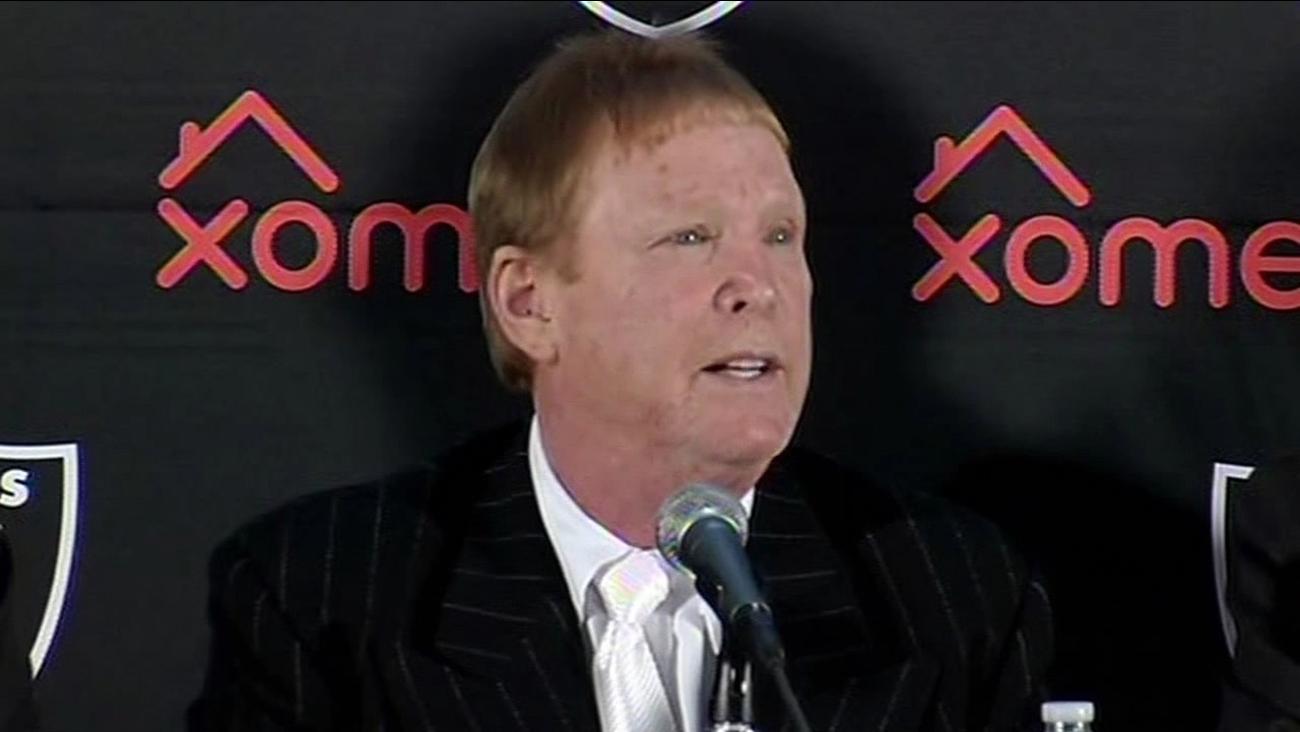 Oakland Raiders owner Mark Davis