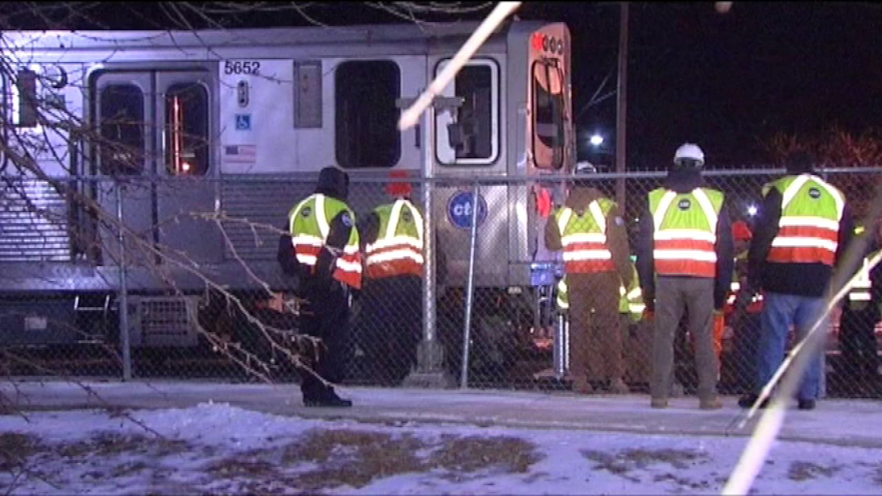CTA Yellow Line service was restored overnight after a minor derailment near the Dempster-Skokie station.