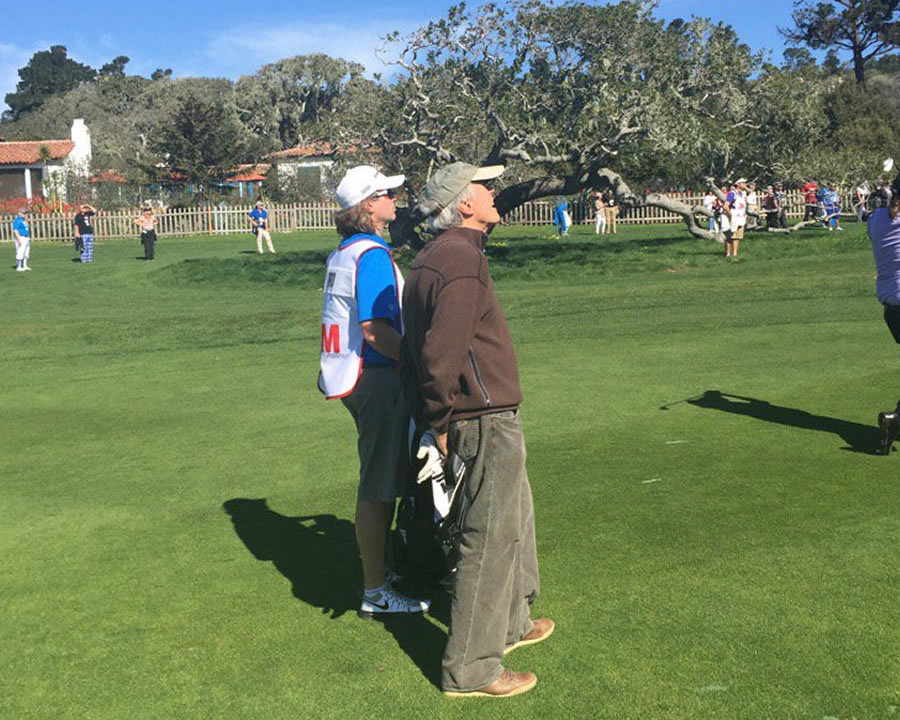 """<div class=""""meta image-caption""""><div class=""""origin-logo origin-image none""""><span>none</span></div><span class=""""caption-text"""">Actor-director Clint Eastwood played in the 3M Celebrity Challenge at the AT&T Pebble Beach Pro-Am on Wednesday, February 10, 2016. (KGO-TV/Mike Shumann)</span></div>"""