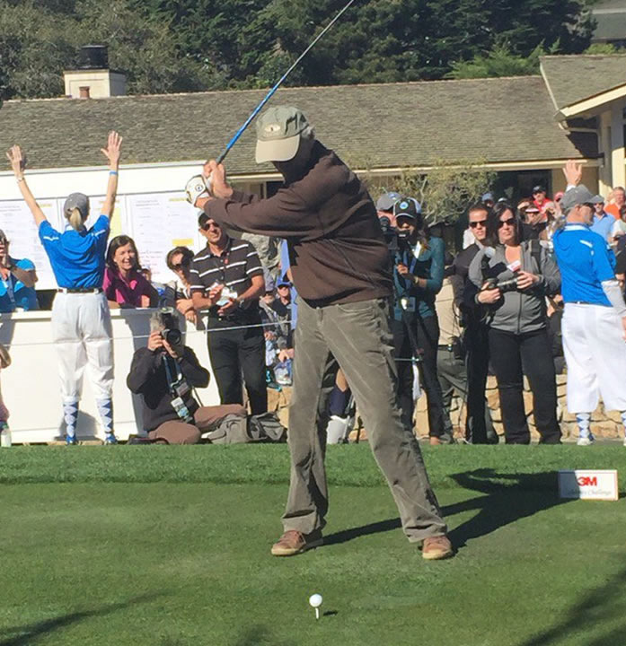 """<div class=""""meta image-caption""""><div class=""""origin-logo origin-image none""""><span>none</span></div><span class=""""caption-text"""">Actor-director Clint Eastwood played in the 3M Celebrity Challenge at the AT&T Pebble Beach Pro-Am on Wednesday, February 10, 2016.</span></div>"""