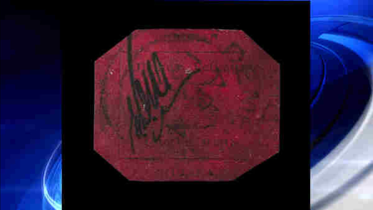 Rare stamp sells for $9 5 million, sets record at New York