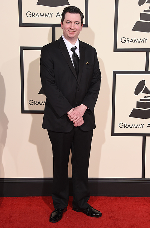 "<div class=""meta image-caption""><div class=""origin-logo origin-image ap""><span>AP</span></div><span class=""caption-text"">Ryan Barna arrives at the 58th annual GRAMMY Awards at the Staples Center on Monday, Feb. 15, 2016, in Los Angeles. (Jordan Strauss/Invision/AP)</span></div>"