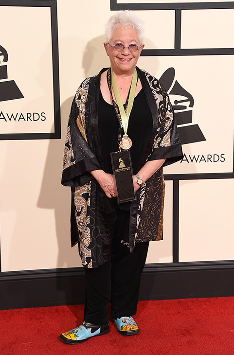 "<div class=""meta image-caption""><div class=""origin-logo origin-image ap""><span>AP</span></div><span class=""caption-text"">Janis Ian arrives at the 58th annual GRAMMY Awards at the Staples Center on Monday, Feb. 15, 2016, in Los Angeles. (Jordan Strauss/Invision/AP)</span></div>"