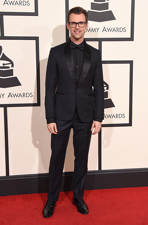 "<div class=""meta image-caption""><div class=""origin-logo origin-image ap""><span>AP</span></div><span class=""caption-text"">Brad Goreski arrives at the 58th annual Grammy Awards at the Staples Center on Monday, Feb. 15, 2016, in Los Angeles. (Jordan Strauss/Invision/AP)</span></div>"
